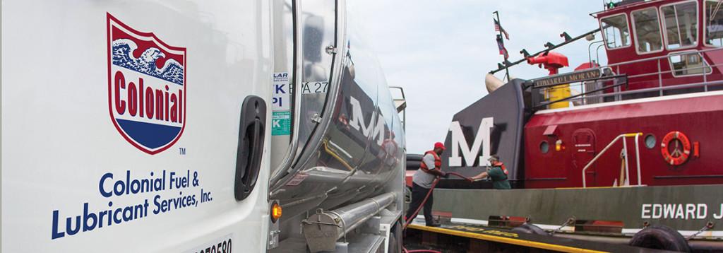 Marine vessel fuel delivery
